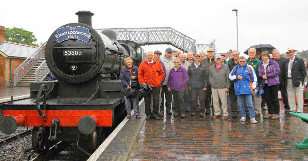 NNR Members day out group