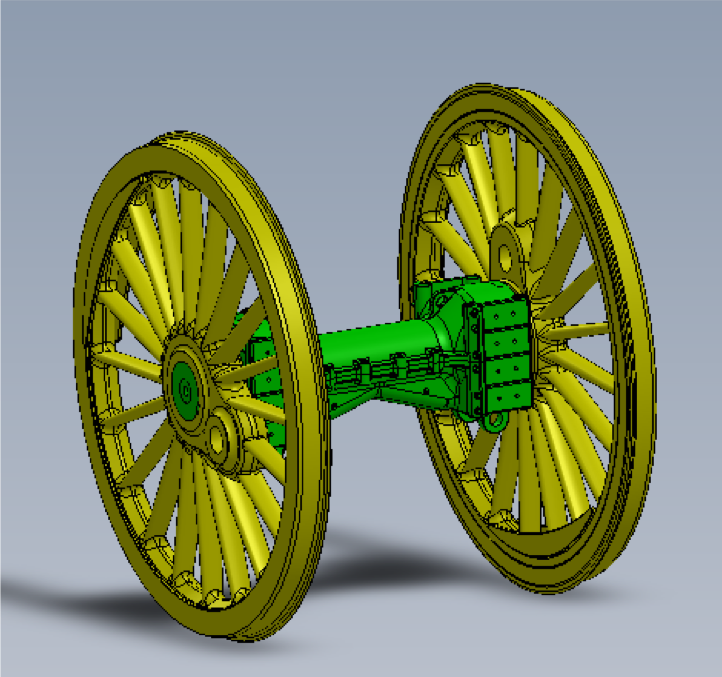Intermediate and Coupled Wheelset