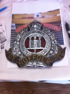 Suffolk Regiment Badge
