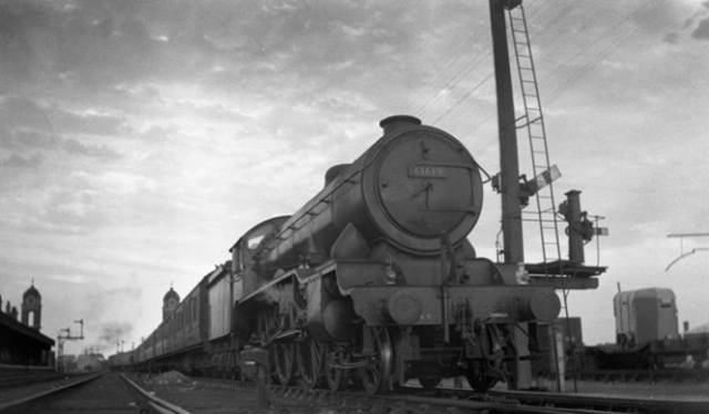 61619 Welbeck Abbey 1951