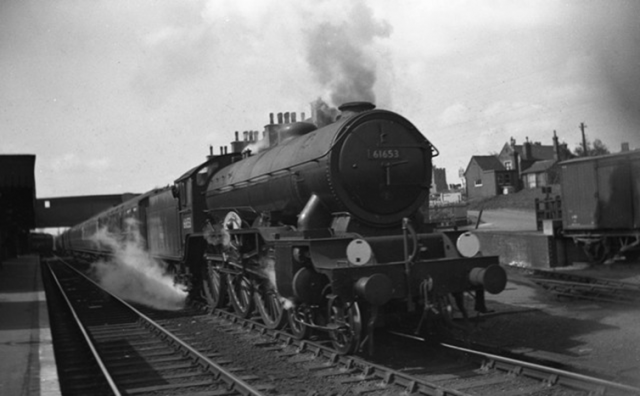 61653 Huddersfield Town at Broxbourne 1951